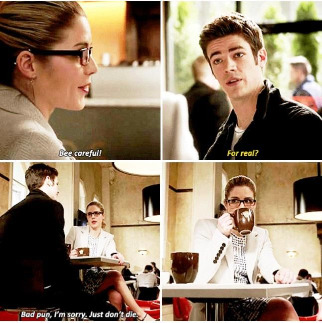 Felicity Smoak & Barry Allen #TheFlash #1.18
