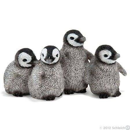 Schleich Emperor Penguin Chicks - soooo cute