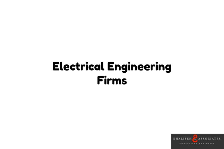 Electrical Engineering Firms