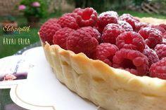 Málnás linzerkosár. Kalóriaszegény édesség, más bogyós gyümölccsel is készíthető