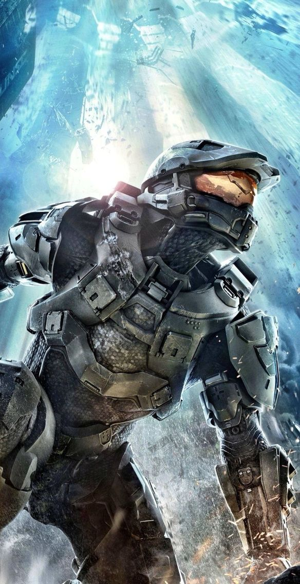 Halo 4 iPhone 5S wallpaper (With images) Halo game, Halo