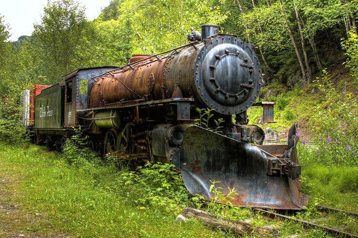 Forgotten Engine - White Pass RR in Alaska