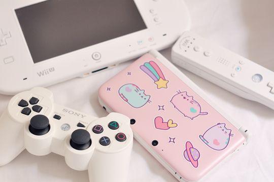 Pusheen Nintendo DS Cover