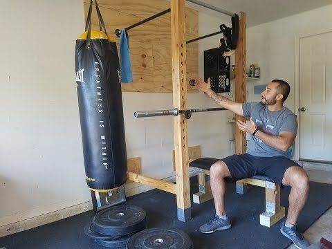 how to build home / garage gym on budget in 1 day for