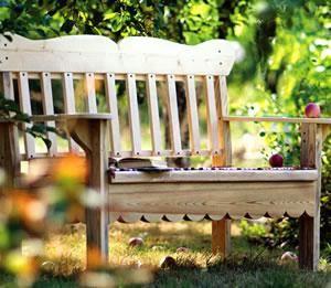 Садовая скамейка, и как её сделать своими руками - Ещё - Статьи - FORUMHOUSE