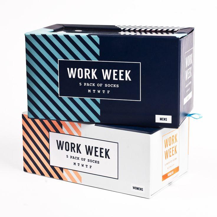 Work Week Sock Pack - Mens + Ladies - Accessories - Drake Store