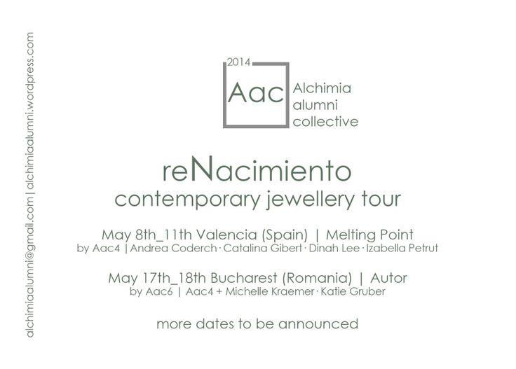 AAC - Alchimia alumni collective - ReNacimiento tour
