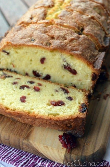 Cherry Almond Pound Cake - this calls for dried cherries, but I am going to try it with new President's Choice frozen pitted cherries.