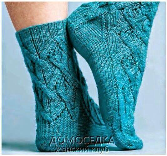 Модели вязания: Носочки