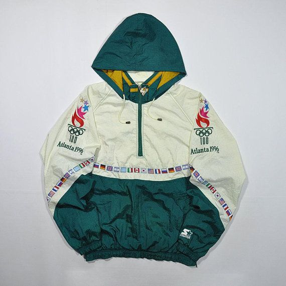 authorized site huge selection of for whole family Rare Vintage 90s STARTER ATLANTA 1996 Olympic Games ...