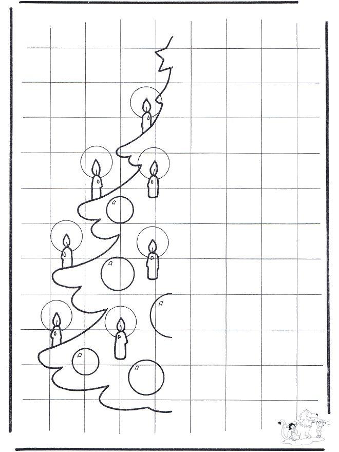 ESPAÇO EDUCAR: 50 árvores de Natal para colorir