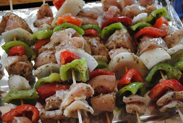 Greek Chicken Kabobs | Cook This - Chicken | Pinterest
