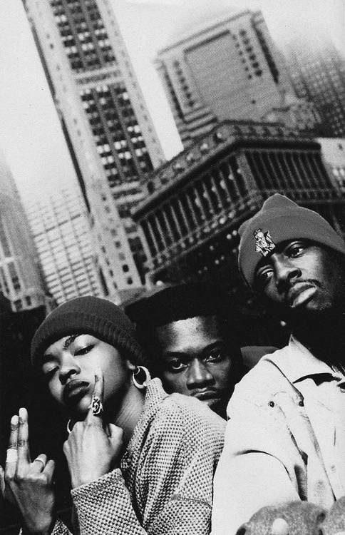 THE FUGEES, mid-90's