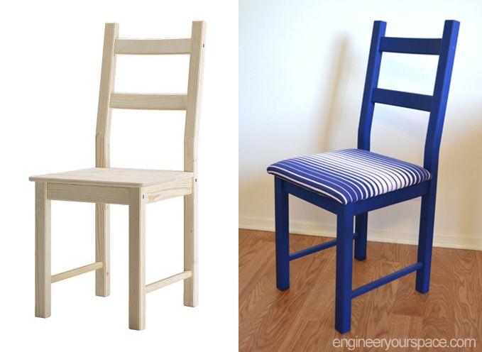 IKEA Hack IKEAs IVAR And INGO Get A Facelift Pine TableChair