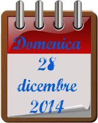 TuttoPerTutti: 28 DICEMBRE.  Buongiorno e buona domenica!! http://tucc-per-tucc.blogspot.it/2014/12/28-dicembre.html