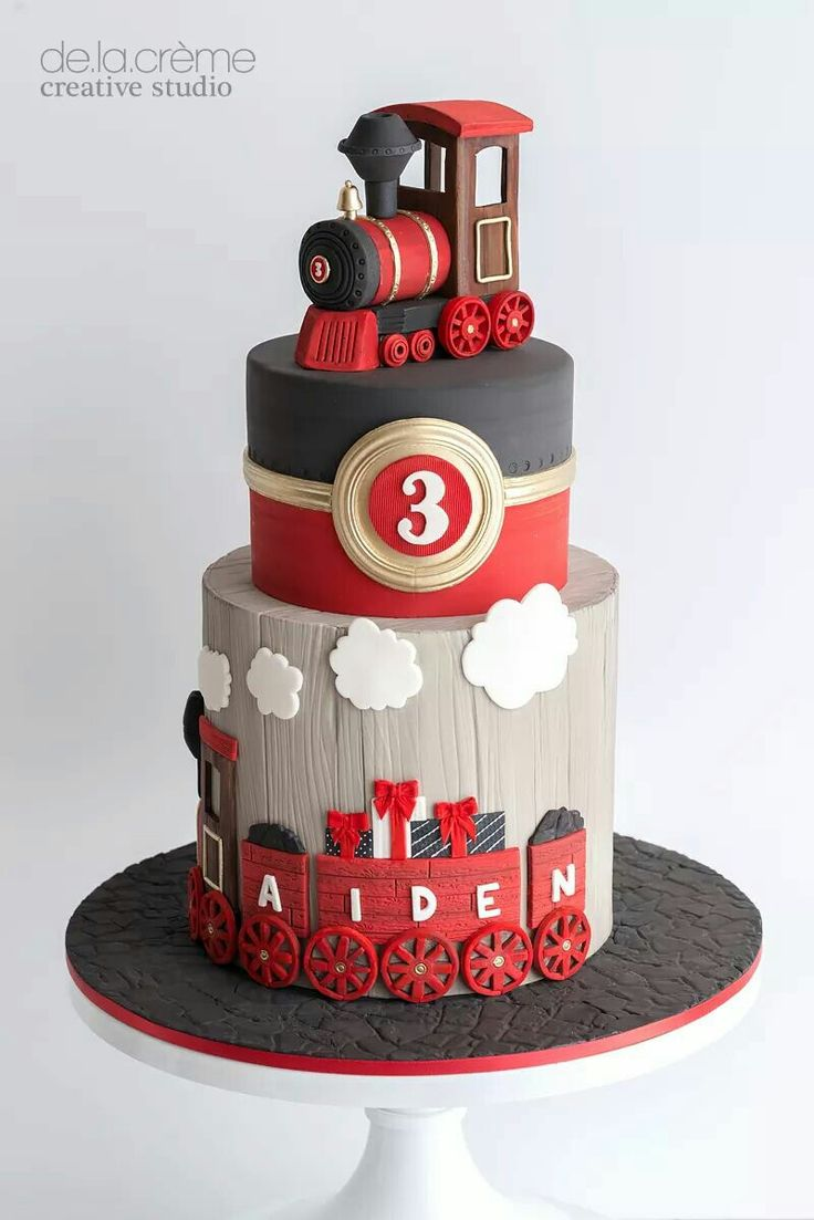 Gorgeous Choo choo train cake