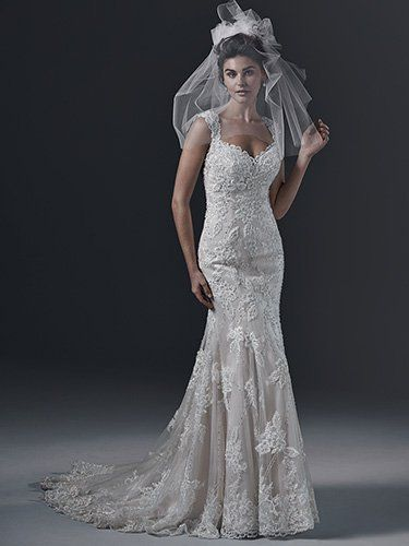 Sottero and Midgley - BRECIA, The definition of pure romance is found in this fit and flare wedding dress