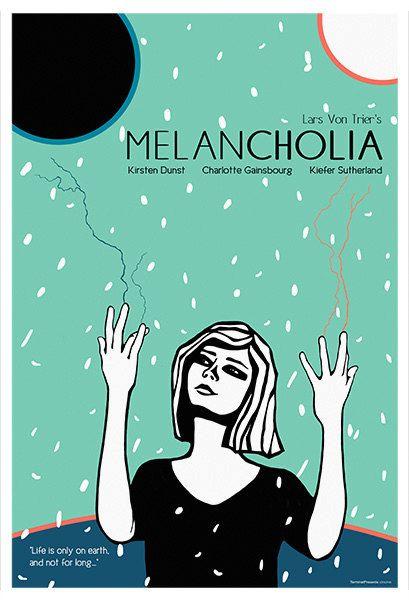 Melancholia Alternative Movie Poster Original by TerminalPresents