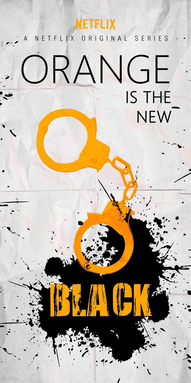 Orange is the new Black - Minimalistic Poster by ChipsEss0r