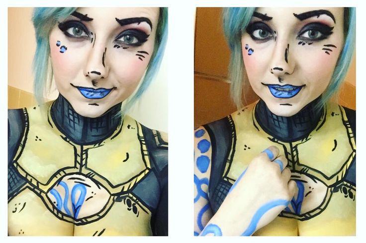 My roommate wanted me to share her amazing Maya (Borderlands 2) cosplay! - Imgur
