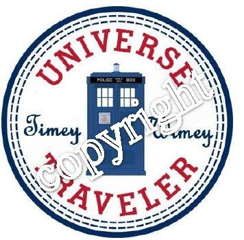 Doctor Who Timey Wimey Converse Label by MischeifManaged12 on Etsy, $3.00