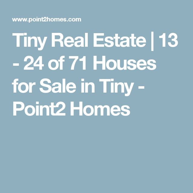 Tiny Real Estate | 13 - 24 of 71 Houses for Sale in Tiny - Point2 Homes