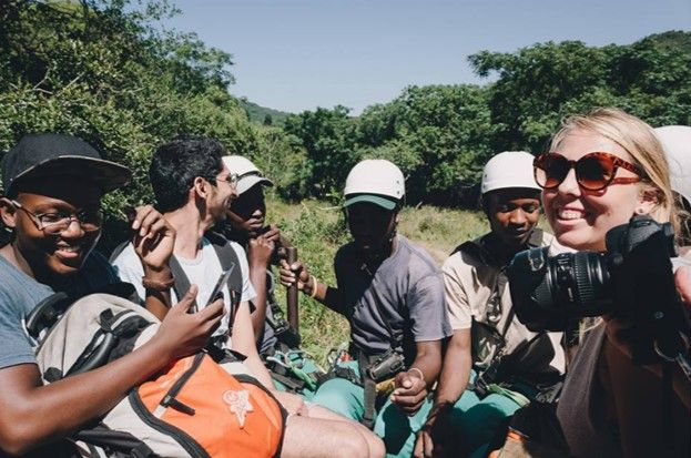 Smiles all around on the ride back after completing the zipline tour! #LiveLoveLakeEland