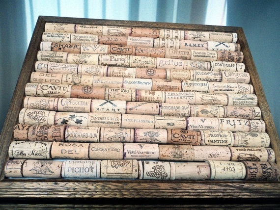 items similar to wine cork board wedding decor place card holder on etsy