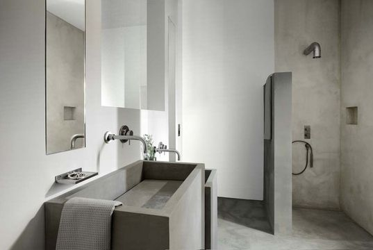 1000 images about badkamer on pinterest toilets concrete wood and search - Badkamer epuree ...