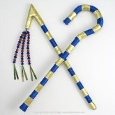 Pharaoh's Golden Crook and Flail ~ DIY Halloween Costume Accessories Cute