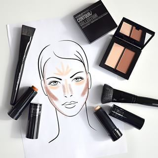 NEW COLLECTION ALERT! Introducing the #HotNewNow #ModelsPrefer contour collection, the ultimate contour and highlight companions!