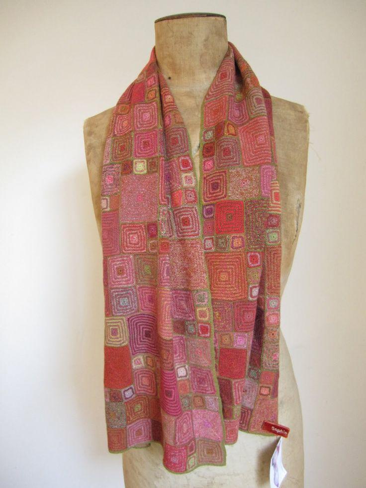 Onabee Blog: Sophie Digard Scarves......back in stock