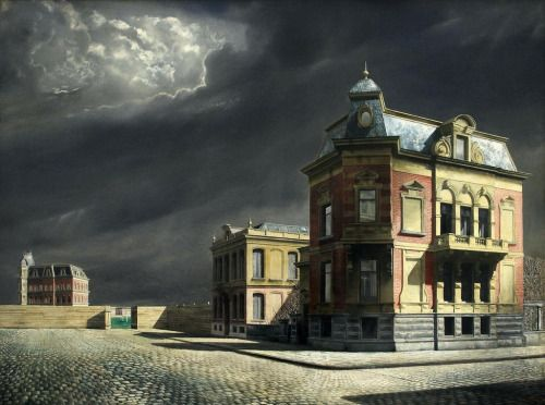View of Town - Carel Willink
