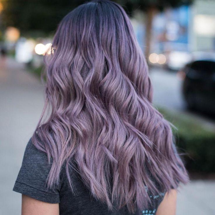 постарались цвет волос аметист фото распространенное