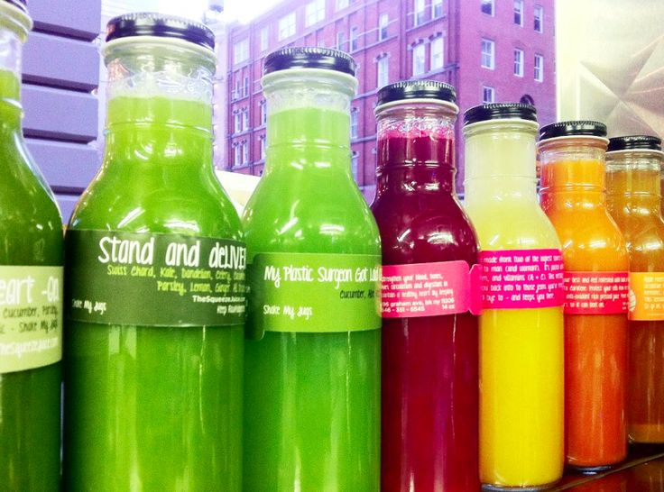 3 spring juice recipes from The Squeeze truck