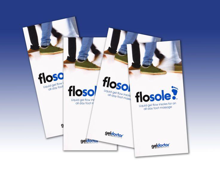 FloSoles packaging www.geldoctor.com