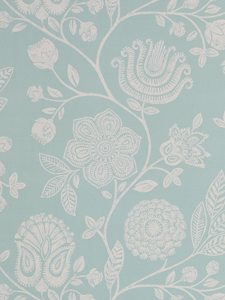 harlequin bonita trail wallpaper teal 110009