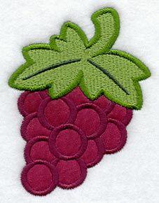 Grape (Applique)