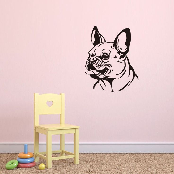 French Bulldog Wall Decal & The 151 best All things french bulldog images on Pinterest | Bulldog ...