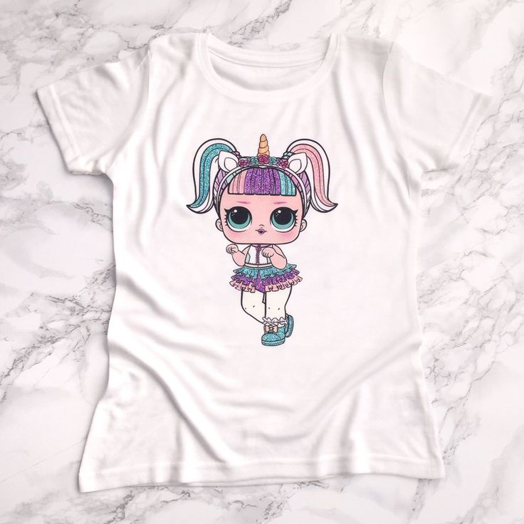 how to make a t-shirt for an lol doll