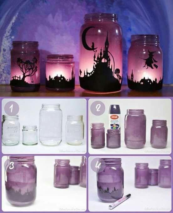 Luminária decoração criativa