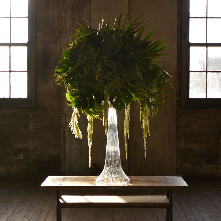Flowers in tall vase - Sydney Prop Specialists