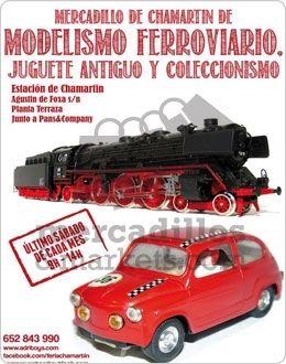 Mercadillo de Modelismo Ferroviario y Juguete Antiguo