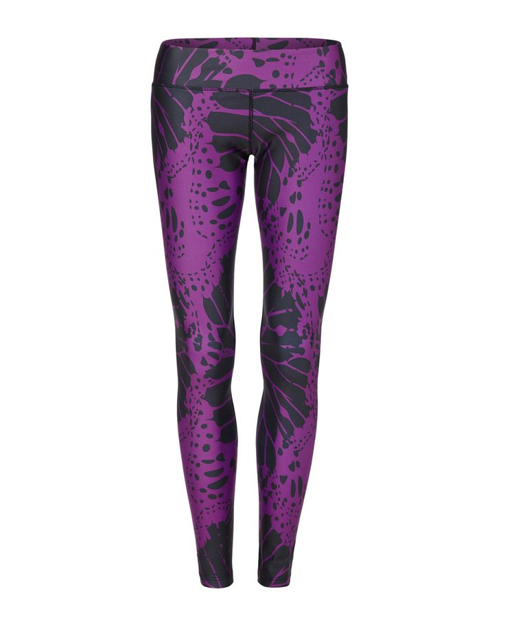 Vie Active Brazillian Butterfly Compression Leggings