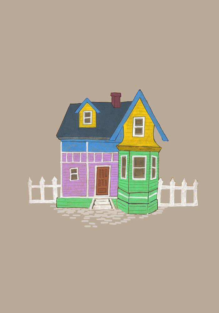 """US - Salt Lake City, Utah, us - casa inspirada en la película """"Up"""" de Disney"""
