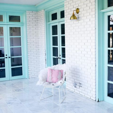 Window Frame Ideas With Colorful Paint