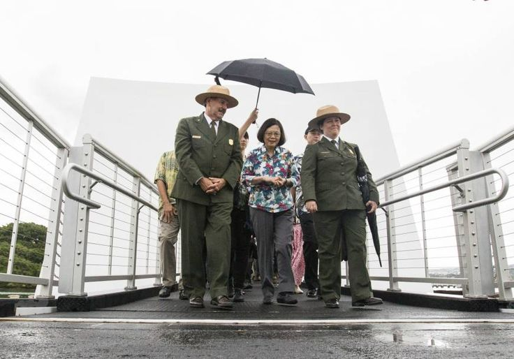 Taiwan will increase defense spending by 2 percent a year, President Tsai Ing-wen said during a visit to Hawaii where the United States expressed concern o