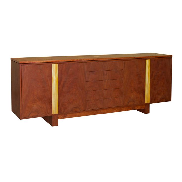 Lewin Red Gum Sideboard by Anton Gerner - bespoke contemporary furniture melbourne
