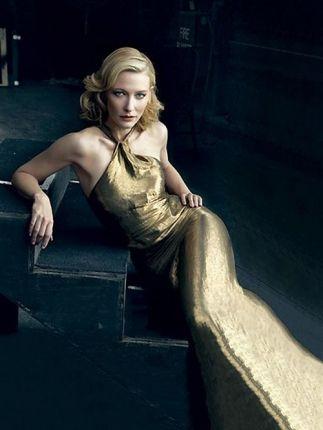 Cate Blanchett (photo credit: Annie Leibovitz)