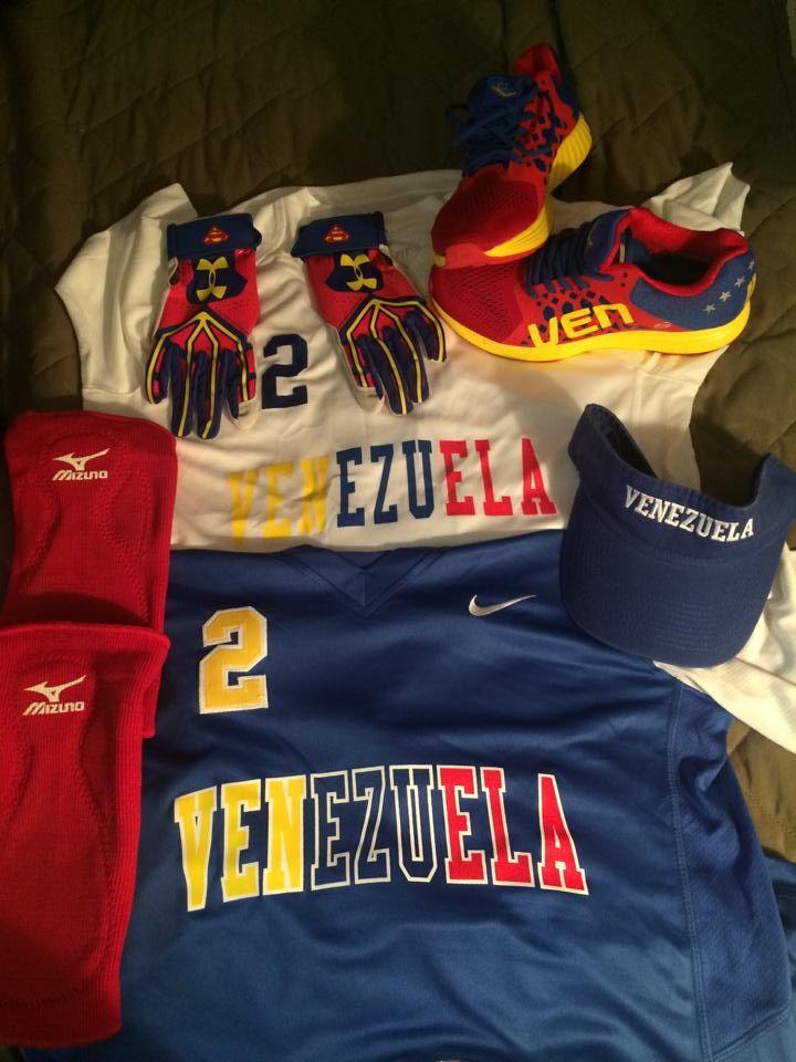 #2 #Uniforme #Venezuela #Orgullo #Softbol Femenino #<3<3<3